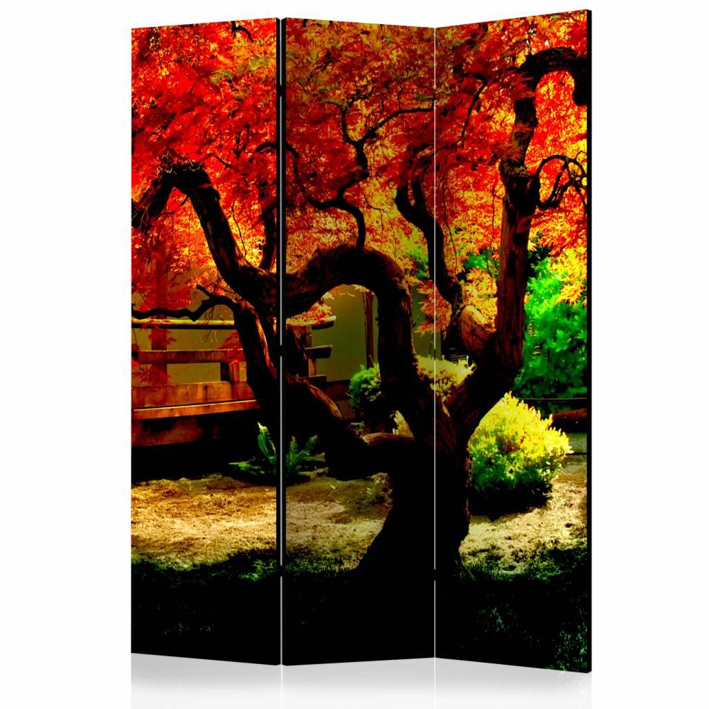 Vouwscherm - Japanse tuin 135x172cm