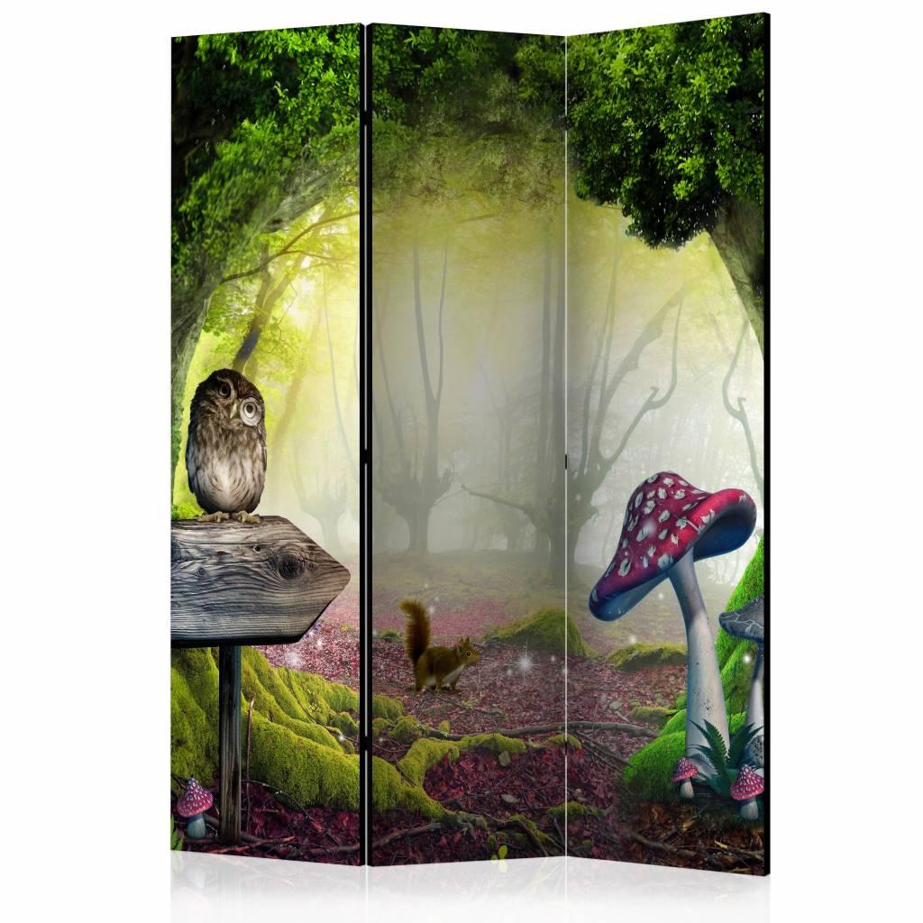 Vouwscherm - Sprookjesbos 135x172cm