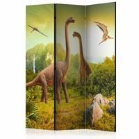 Vouwscherm - Dinosaurussen 135x172cm