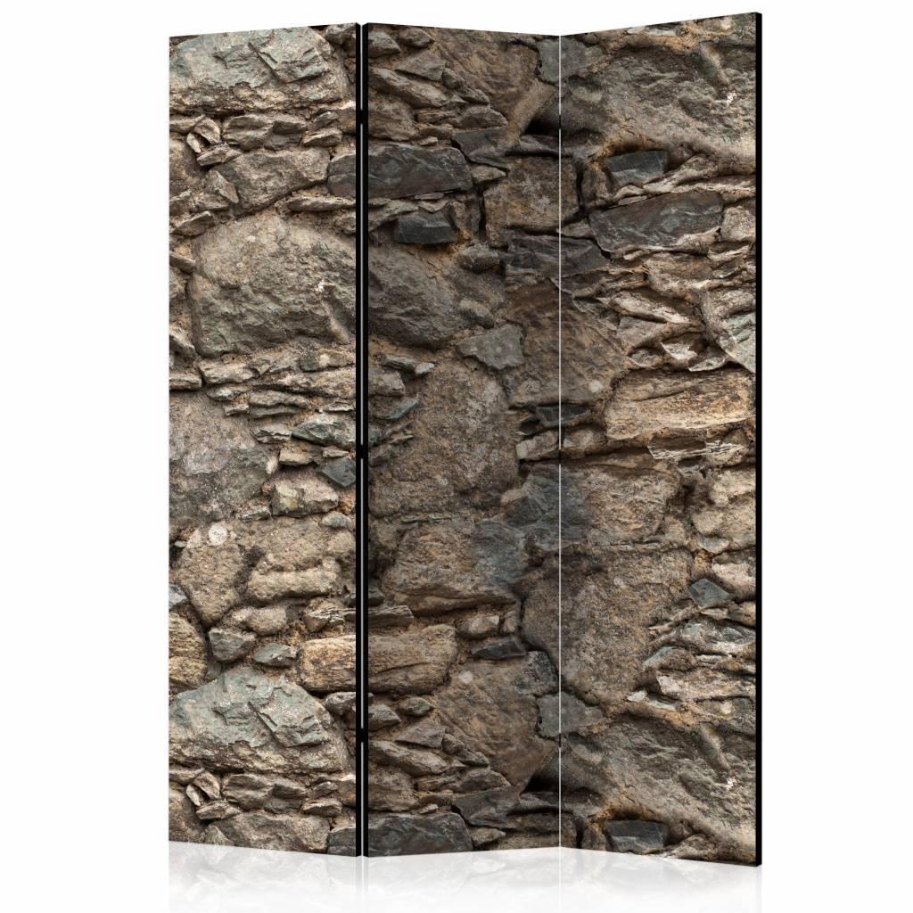 Vouwscherm - Oude stenen metselwerk 135x172cm