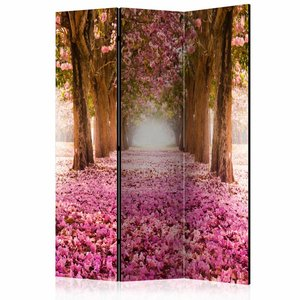 Vouwscherm - Pink Grove 135x172cm