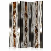 Vouwscherm - Artistieke expressie 135x172 cm