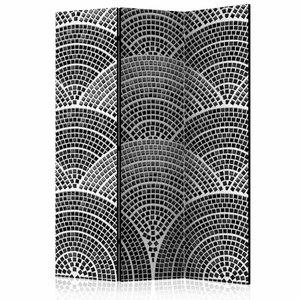 Vouwscherm - Halfronde mozaïek 135x172cm