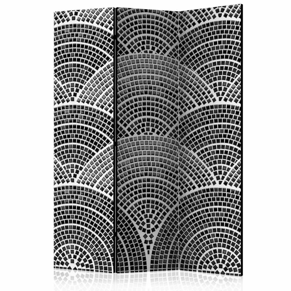 Vouwscherm - Halfronde moza�ek 135x172cm