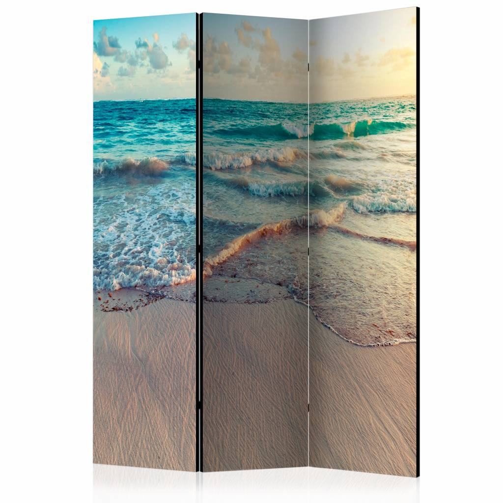 Vouwscherm - Strand in Punta Cana, Dominicaanse Republiek 135x172cm