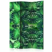 Vouwscherm - Tropisch blad 135x172cm