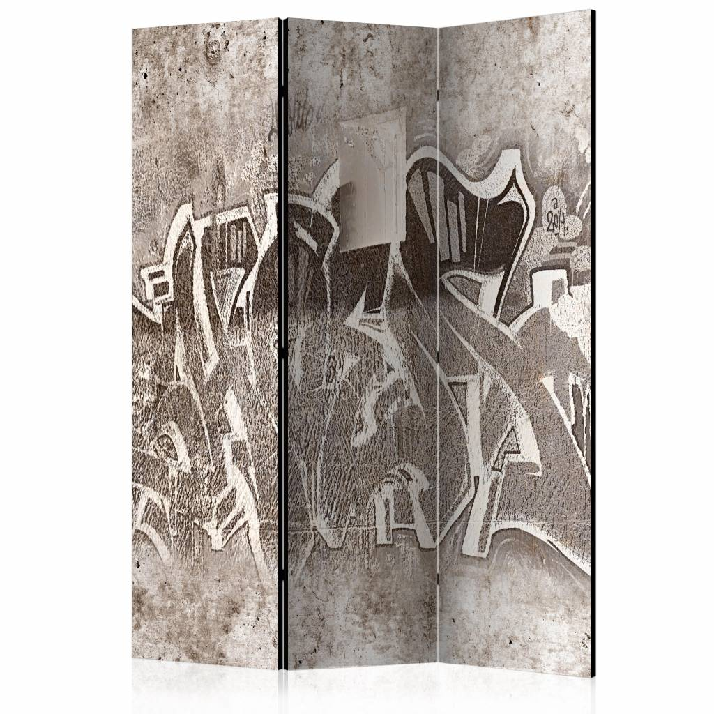 Vouwscherm - Graffiti 135x172cm