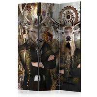 Vouwscherm - Drie dieren 135x172cm
