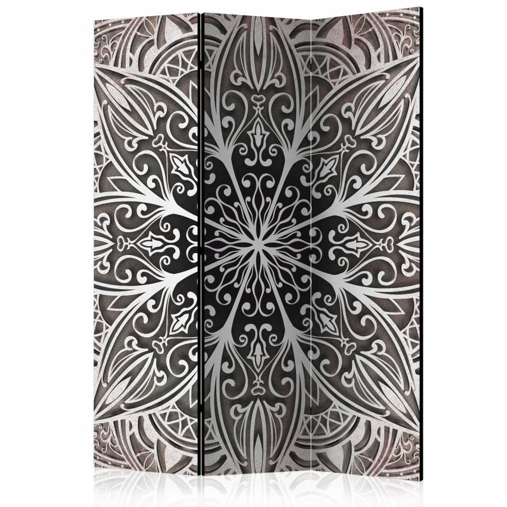 Vouwscherm - Veren, wit 135x172cm