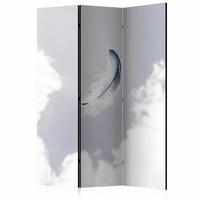 Vouwscherm - Engelen veer 135x172 cm , gemonteerd geleverd (kamerscherm) dubbelzijdig geprint