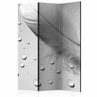 Vouwscherm - Witte veer 135x172 cm