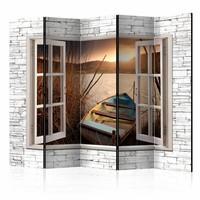 Vouwscherm - Autumnal Lake II [Room Dividers]