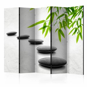 Vouwscherm - Zen Stenen 225x172cm