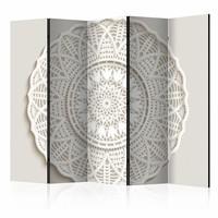 Vouwscherm - Mandala 3D , 225x172cm , gemonteerd geleverd (kamerscherm)