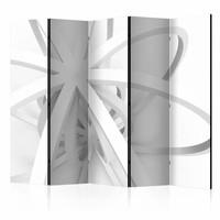 Vouwscherm -  Openwork form 225x172cm , gemonteerd geleverd, dubbelzijdig geprint (kamerscherm)