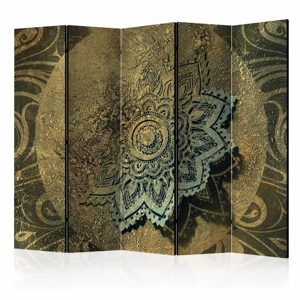 Vouwscherm - Gouden Schat 225X172cm