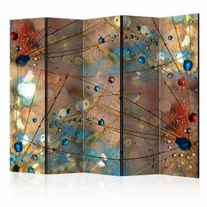 Vouwscherm - Magische wereld 225x172cm  , gemonteerd geleverd, dubbelzijdig geprint(kamerscherm)
