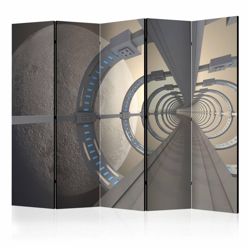 Vouwscherm - Kosmische tunnel 225x172cm