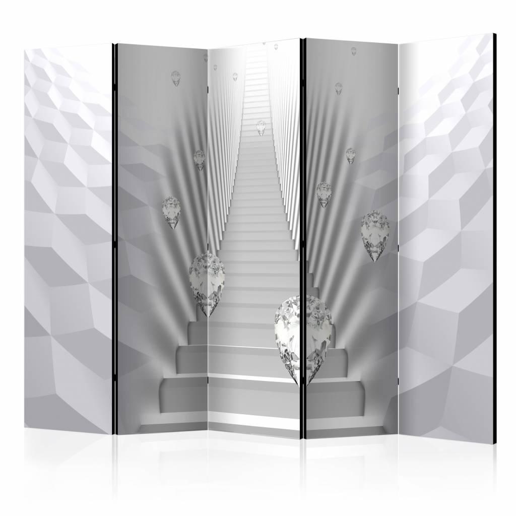 Vouwscherm - De trap 225x172cm