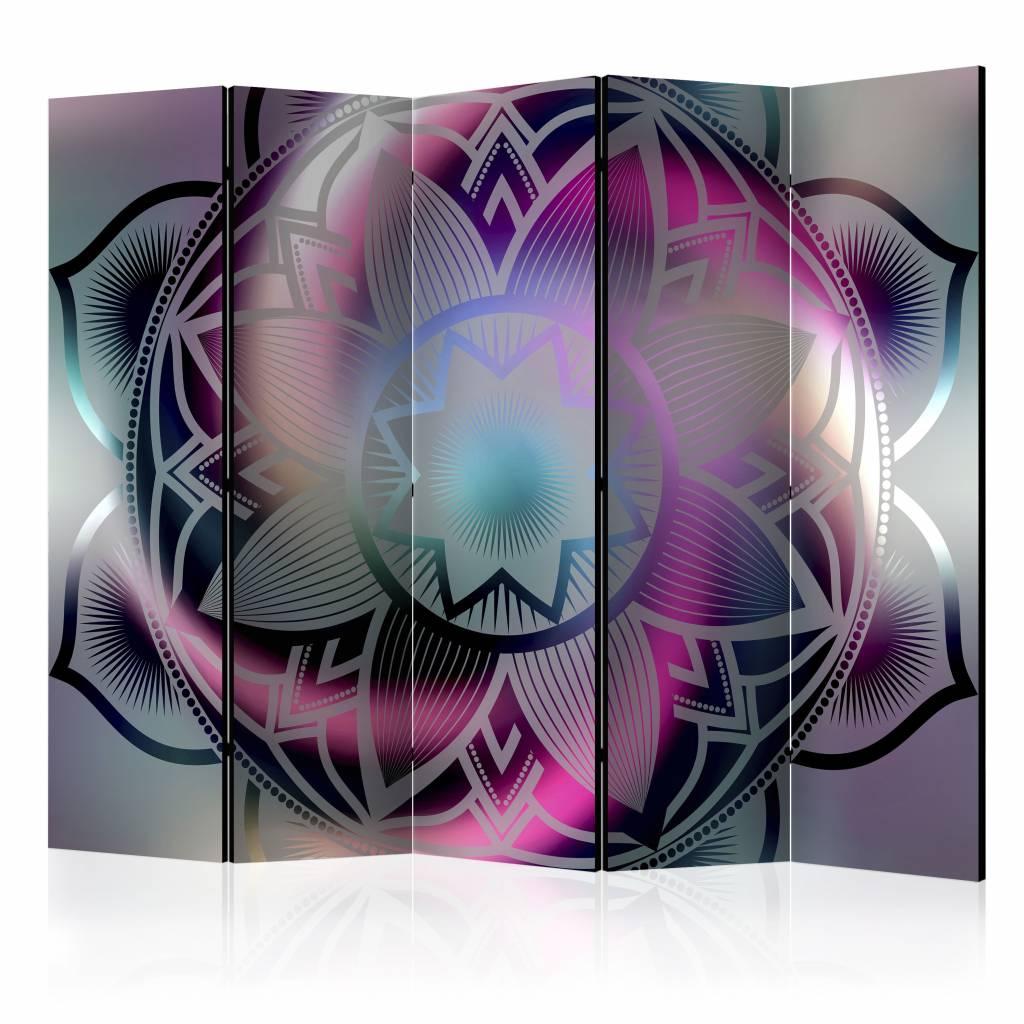 Vouwscherm - Mandala 225x172cm