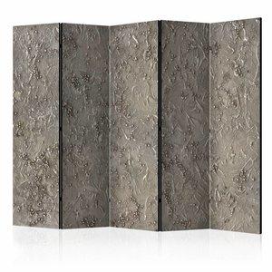 Vouwscherm - Zilveren Serenade 225x172cm
