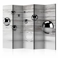 Vouwscherm - Balans  225x172cm  , gemonteerd geleverd, dubbelzijdig geprint (kamerscherm)