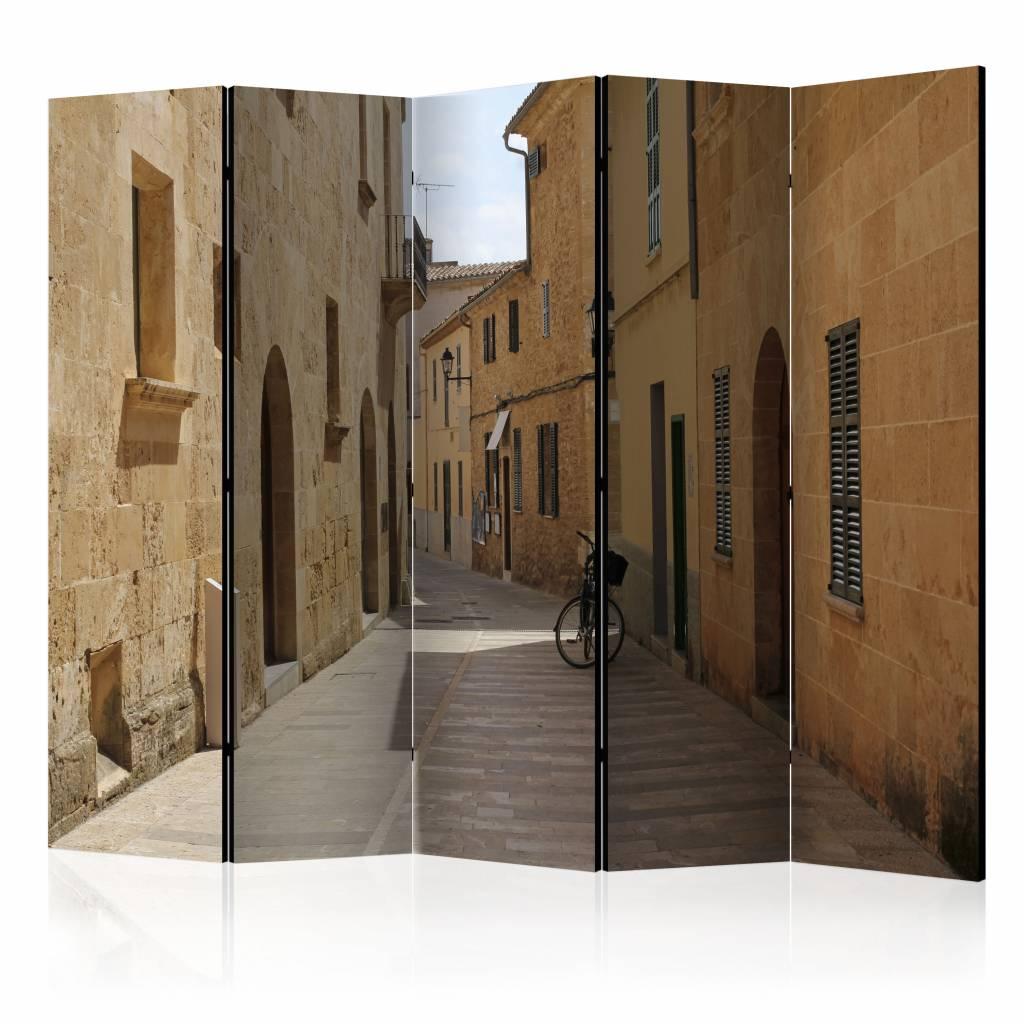 Vouwscherm - Zomer in Mallorca 225x172cm