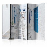 Vouwscherm - Grieks droom eiland 225x172cm