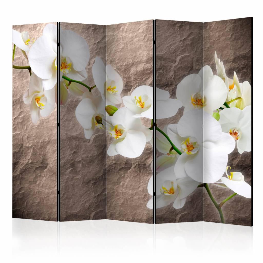 Vouwscherm - Onberispelijkheid van de Orchidee 225x172cm