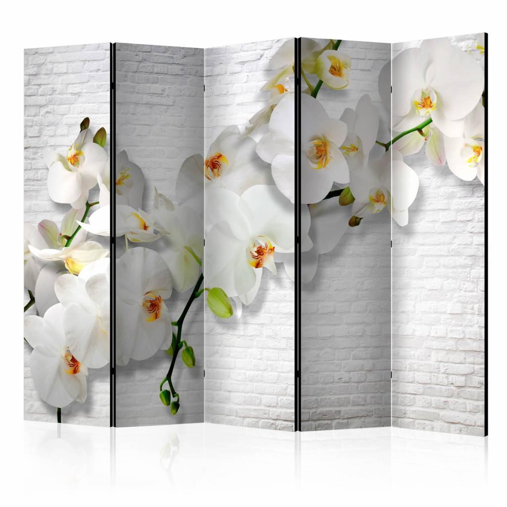 Vouwscherm - Urban Orchidee 225x172cm
