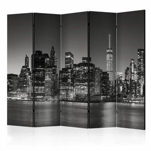 Vouwscherm/kamerscherm - New York Nights II , 225x172cm