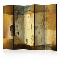 Vouwscherm - Gouden rariteit  225x172cm