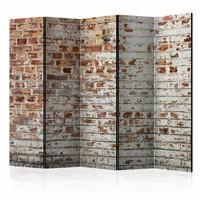 Vouwscherm - Muur van herinneringen 225x172cm