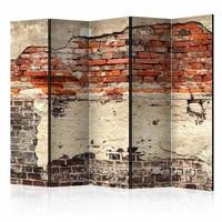 Vouwscherm - Historie van een stad   225x172cm  , gemonteerd geleverd (kamerscherm)