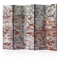 Vouwscherm - Stenen muur, 225x172cm