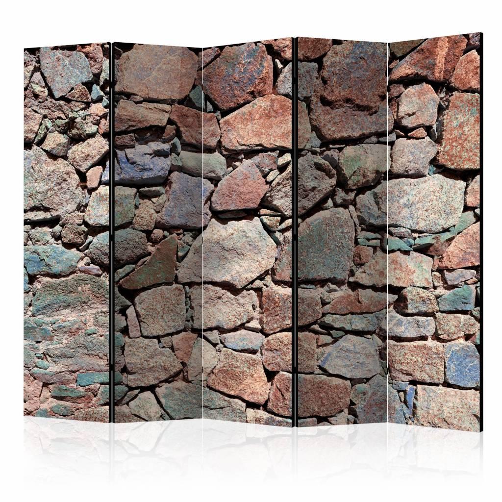 Vouwscherm - Natuursteen 225x172cm