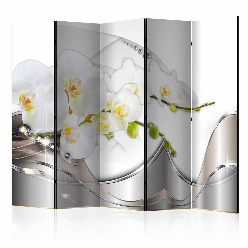 Vouwscherm - Dans van de orchidee 225x172cm