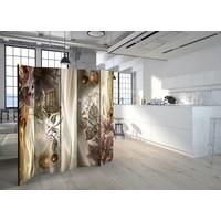 Vouwscherm - Amber Land 225x172cm