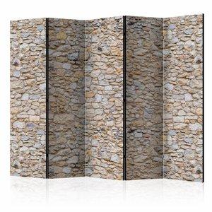 Vouwscherm - Stenen 225x172cm