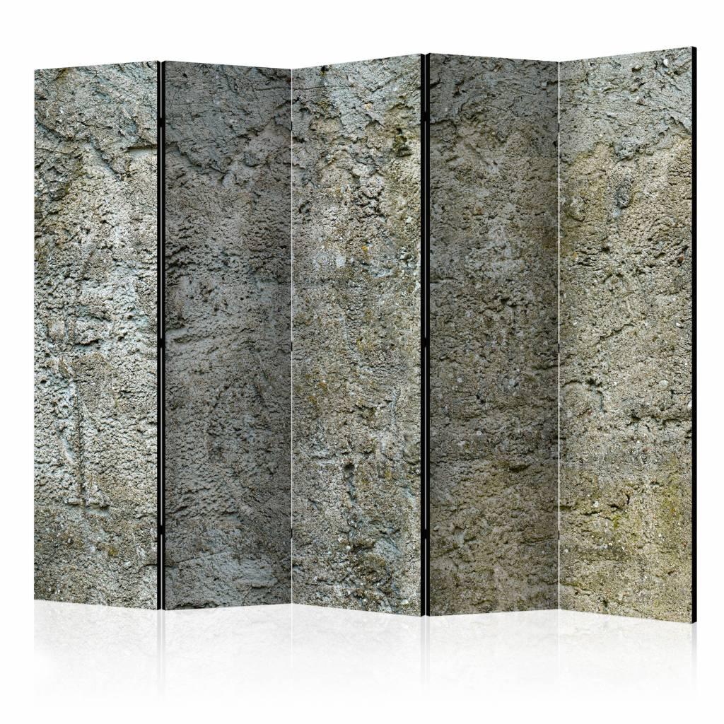 Vouwscherm - Stenen barriere 225x172cm