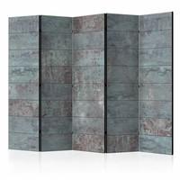 Vouwscherm - Turquoise Beton 225x172cm