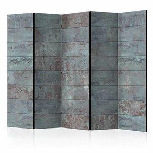 Vouwscherm - Turquoise Concrete II [Room Dividers]
