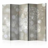 Vouwscherm - Ballade van schoonheid 225x172cm  , gemonteerd geleverd, dubbelzijdig geprint (kamerscherm)