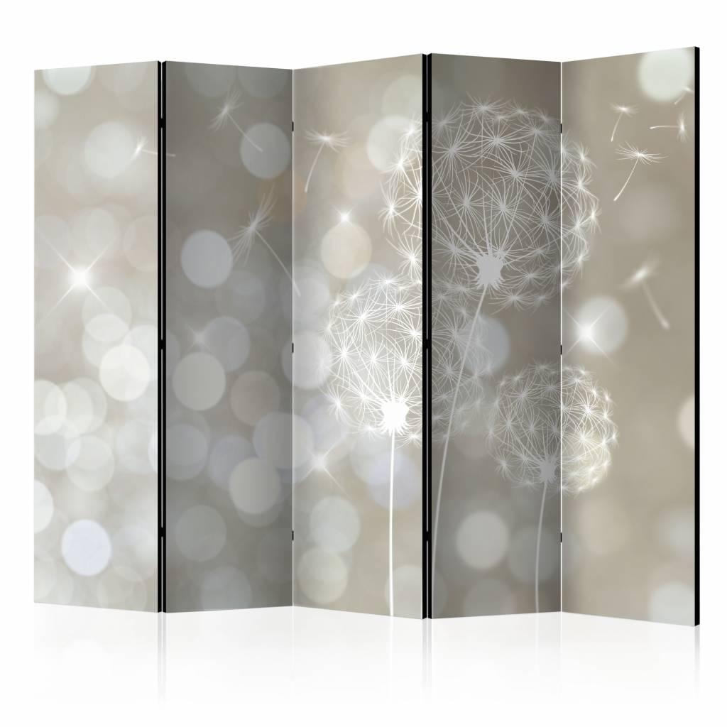 Vouwscherm - Ballade van schoonheid 225x172cm