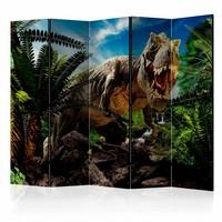 Vouwscherm - Boze Tyrannosaurus 225x172cm