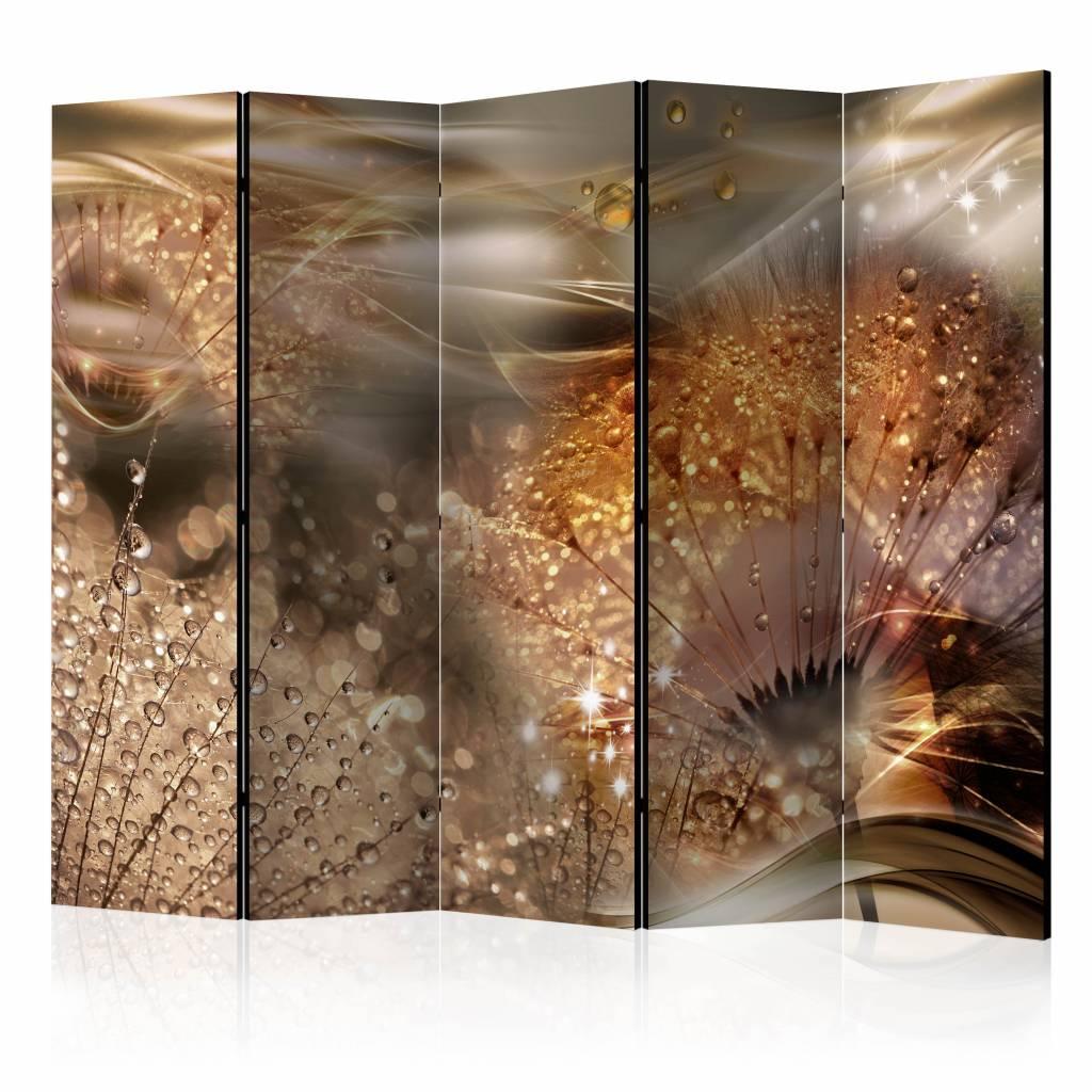 Vouwscherm - Wereld van de paardenbloem 225x172cm