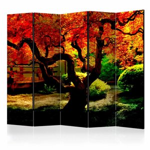 Vouwscherm - Japanse tuin 225x172cm