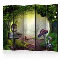 Vouwscherm - Sprookjesbos 225x172cm