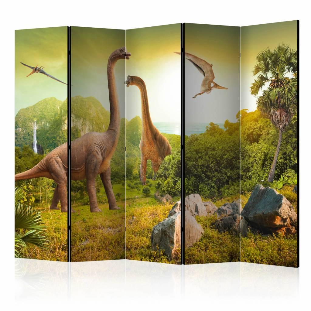 Vouwscherm - Dinosaurussen 225x172cm
