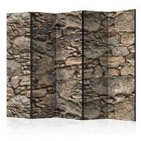 Vouwscherm - Oude stenen metselwerk  225x172cm